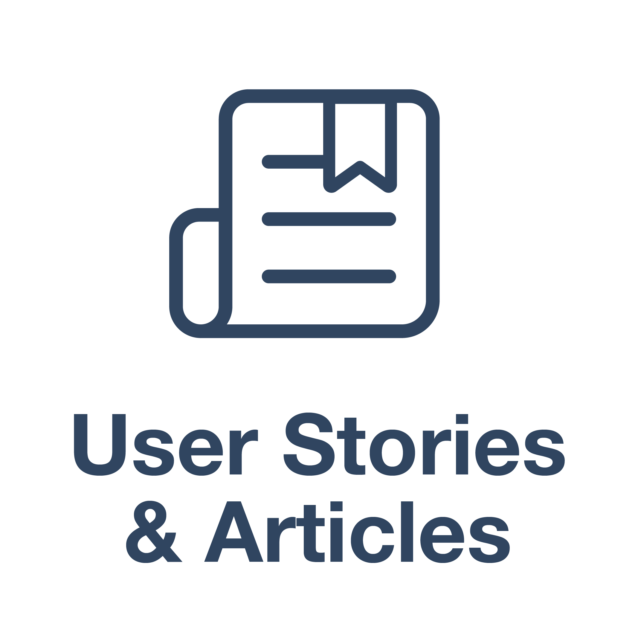 User stories and Articles
